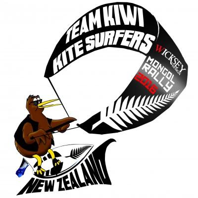 Team Kiwi Kite Racing Logo Final
