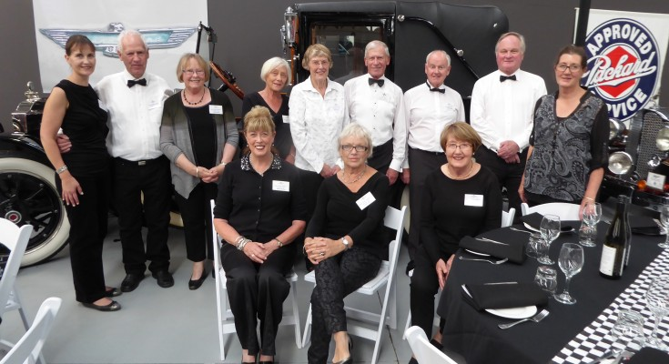 Members of the Upper Clutha Children's  medical Trust at the Geezer's Dinner