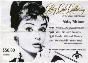 Ticket to the 2013 Glitzy Gals Fundraiser